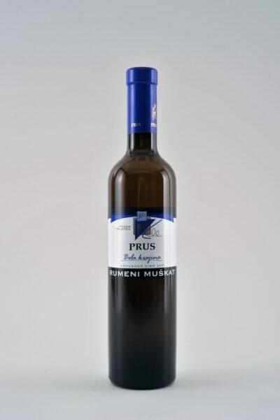 rumeni muskat pozna trgatev prus be wines
