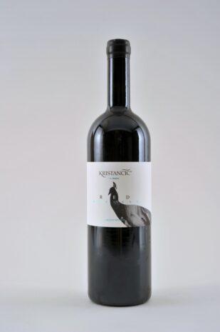 red artwork kristancic be wines
